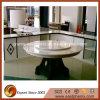 A cozinha branca Sparkling cobre bancada de vidro cristalizada Polished
