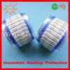 El envolver rápido blanco de la etiqueta de plástico del alambre del encogimiento