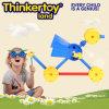 Brinquedo animal colorido do bloco de apartamentos plástico para miúdos