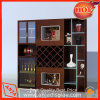 Стеллаж для выставки товаров вина полки индикации вина