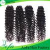 最上質の卸し売り加工されていないバージンの毛のRemyの人間の毛髪の拡張