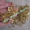 Spilla di sicurezza colorata oro all'ingrosso del metallo 000# per la modifica d'attaccatura