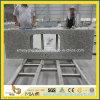 Prefab Countertops van de Keuken van het Graniet van de Huid van de Tijger Witte
