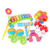 De nieuwe Instrumenten van Orff van de Baby van het Ontwerp 6PCS Geplaatst Peuter Muzikaal Speelgoed voor Jonge geitjes
