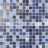 mosaico de cristal del derretimiento caliente de 20X20m m para el azulejo de la piscina (BGE005)