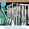 ザンビア、トウモロコシの小麦粉の生産ライントウモロコシのフライス盤のトウモロコシの製粉機