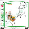 Metal Shopping Trolley Hold Two Baskets
