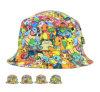 Chapéu animal bonito relativo à promoção do verão do chapéu da cubeta das crianças do teste padrão