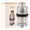 Fodi Tank Uses 316 vapeurs et Pyrex Glass Rebuildable Atomizer