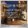 Luces del adorno de la calle del LED, luces de la bola de la decoración de la calle del día de fiesta