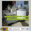 縦のタイプ直接拡張のミルク冷却タンク