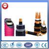 Conducteur de cuivre, câbles isolés et blindés de PVC, code de câble Yfy ou Ywy