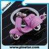 De la fábrica anillo dominante de Keychain de la alta calidad directo del recuerdo del regalo de los accesorios de la motocicleta suave creativa de encargo al por mayor del PVC