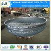 protezioni cape ellittiche servite formate calde del acciaio al carbonio di 1400*16 millimetro