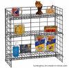 Estante de visualización del metal para el almacén del supermercado de 3 capas que hace publicidad de la exposición