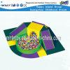 Equipamento do campo de jogos da associação da esfera com Kidsslides (HF-19906)