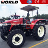 De Tractor van het Landbouwbedrijf van het Wiel van de Machines van het landbouwbedrijf 110HP voor Verkoop