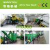 botella plástica del ANIMAL DOMÉSTICO de 500 kilogramos/h que machaca lavarse reciclando la máquina