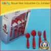 Jeu en gros de couverts de l'acier inoxydable 16PCS avec le traitement en plastique (RYST0167C)