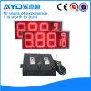 Cambiador al aire libre rojo del gas de la pulgada LED de Hidly 12