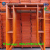 Steiger de van uitstekende kwaliteit van het Systeem van het Frame van het Staal van Echte Fabriek