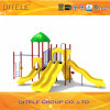Gelber Farben-Spielplatz eingestellt für Alter 2-12