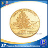 最上質の金によってめっきされる記念品の金属の硬貨(Ele-C132)