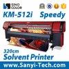 잉크 제트 디지털 기계 큰 체재 인쇄 기계 기계장치를 인쇄하는 용해력이 있는 인쇄 기계 도형기 인쇄 기계를 인쇄하는 용해력이 있는 인쇄 기계 Sinocolorkm-512I 옥외 인쇄 기계