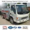 Caminhão do depósito de gasolina do petróleo da gasolina da gasolina do euro 3 5cbm JAC