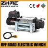 8288lbs resistentes 12V ayunan la línea torno eléctrico de la velocidad con la cuerda de alambre