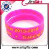Wristband del silicone di modo con il marchio impresso
