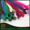 Cremallera de nylon impermeable accesoria de la ropa colorida de la alta calidad