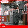 Machine de grenaillage d'élévateur pour des pièces de bâti et de pièce forgéee