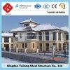 高品質の中国からの軽い鉄骨構造のプレハブの家