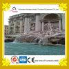Construction en dehors de fontaine d'eau laminaire de statues de marbre