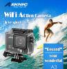 Датчик 2k полное HD 1080P 60fps Novatek 20MP кулачка G-Датчика Gitup 2 водоустойчивый видео- делает камеру водостотьким действия WiFi