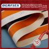 La vendita calda ha messo a nudo la tela incatramata del tessuto del PVC con il disegno dell'OEM