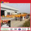 Prezzo scheletrico del rimorchio del camion del trasporto resistente del contenitore semi (PLY9350TJZG)
