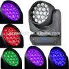 2015 indicatori luminosi capi mobili dell'alta 19*12W 4in1 LED lavata potente del più nuovo prodotto con lo zoom