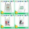 Bolsos plásticos de la camiseta del LDPE del HDPE para el supermercado