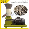 Pequeño 22KW 200-300kg/h Capacity Sawdust/Straw Flat Die Pellet Machine