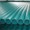 Prix en plastique de pipe de conduit de l'eau de PVC de couleur grise et blanche