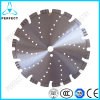 La circular soldada con autógena laser del diamante vio la lámina para el concreto reforzado