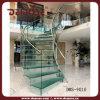 ガラス柵のアーチ状のステアケース(DMS-9010)