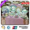Vendedores calientes de la etiqueta Porcelana cena conjunto