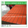 Sale熱いOrange Color Melamine Faced 18mm Slot MDF