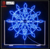 제 2 LED Snowflake Motif Light Outdoor Decoration