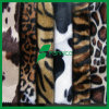 100%Polyester Animal Print Velvet per Car Seat Cover