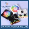 Caja de embalaje de la mano del hilandero colorido de la persona agitada con la insignia impresa (CMG-YM-006)