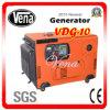 10 Kw 침묵하는 디젤 엔진 발전기 세트 소리 증거 상자 Vdg-10